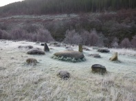 Sculptures in the frost