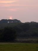 Sunset over Lorton