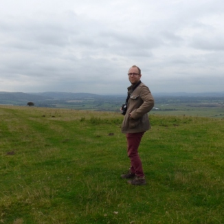 Matt on top of the South Downs