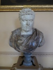 Bust of Roman Emperor, Caracalla.