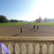 View from the front of Wimpole Hall
