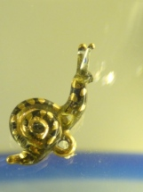Snail made from glass